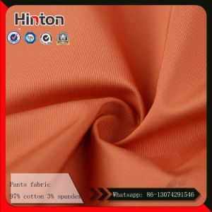40s High Quality Cotton Spandex Pant Fabric for Men pictures & photos