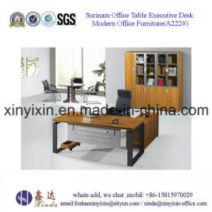 Foshan Factory Wooden Furniture Melamine Office Desk (BF-002#) pictures & photos