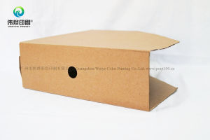 Customized Foldable Kraft Corrugated Cardboard Packaging Box pictures & photos