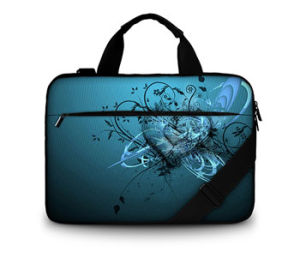 "Canvas Shoulder Messenger Comptuer Bag Laptop Bag for 17"" pictures & photos"