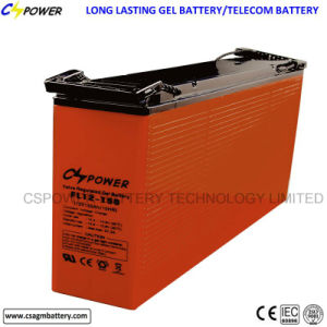 Front Terminal Solar Gel Deep Cycle Battery 12V150ah FT12-150 pictures & photos