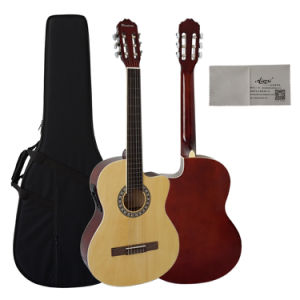 Wholesale All Plywppd Classical Guitar From Aiersi Factory pictures & photos
