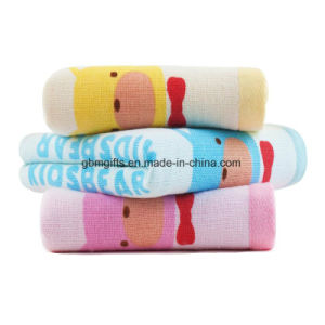 Cotton Towels Lovely Gauze Baby Towels 100% Cotton Double Layer Towel pictures & photos