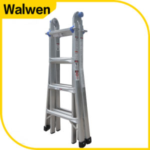 """a""Frame Multifuction Folding Aluminum 5 Step Ladder Supplier pictures & photos"