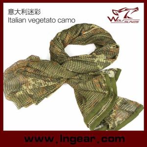 Multifunctional Tactical Scarf Scrim Scarf Airsoft Scarf Headwear Scarf Italian Vegetato Camo pictures & photos