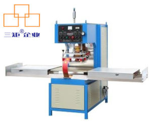 High Frequency PVC Welding Packing Machine (sliding table) pictures & photos