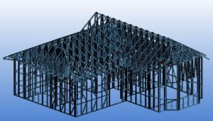 Light Steel Structure Housings Steel Framing Machine pictures & photos
