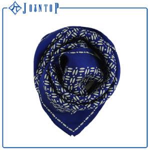 Women Silk Scarf with Custom Logo Design Digital Printed Silk Scarf pictures & photos