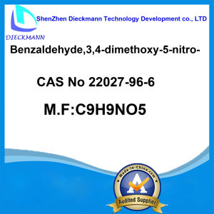 Benzaldehyde, 3, 4-Dimethoxy-5-Nitro- CAS No 22027-96-6