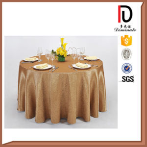 Wedding Banquet Red Round Table Cloth (BR-TC020) pictures & photos