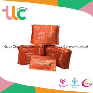 Ultra Thin Lady Anion Sanitary Napkin with Super Quality