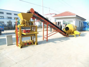 Semi Automatic Block Making Machine for Hollow&Solid Blocks pictures & photos