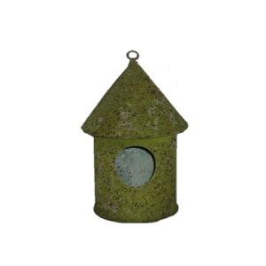 Natural Moss Tin Garden Bird House Pet Cage Metal Birdcage pictures & photos