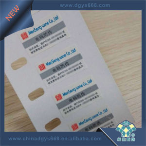 Scratch off Digital Code Label pictures & photos