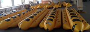 Selling Inflatable Banana Water Boat Kids Water Boats pictures & photos
