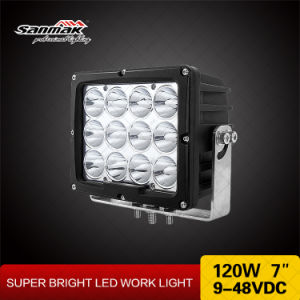 7.4′′ 120W IP67 Waterproof LED Spot Flood Work Light pictures & photos