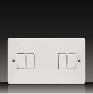 10A 250V 4 Gang 1way/2way Wall Switch (CK41) pictures & photos