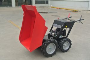 Mini Dumper with Chain Drive 4WD Power Barrow By300s pictures & photos