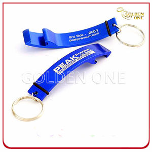 Anodized Aluminium Personalized Printed Metal Bottle Opener Keyring pictures & photos