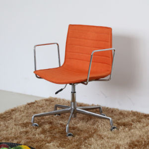 (SP-FC327) Abjustable Orange Leather Upholstered Arper Catifa Office Chair pictures & photos