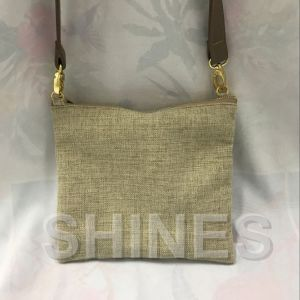 Gold Linen Women Bag pictures & photos