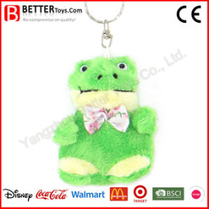 China Soft Stuffed Animal Plush Frog Keychain pictures & photos