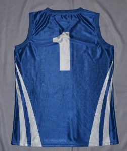 Blue Basketball Singlet/Basketball Vest pictures & photos