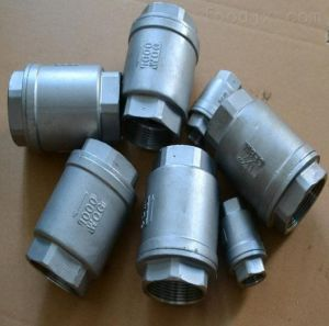 Flanged Vertical Check Valve (H42) pictures & photos