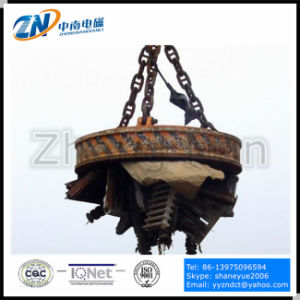 High Frequency Scrap Lifting Magnet with 1900kg Lifting Capacity MW5-150L/1-75 pictures & photos