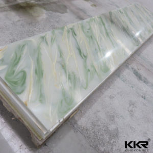 Kingkonree Artificial Stone Translucent Resin Stone Panel for Decoration pictures & photos
