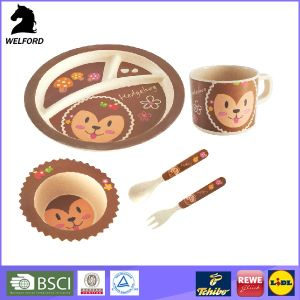 Children Bamboo Fiber Dinnerware pictures & photos