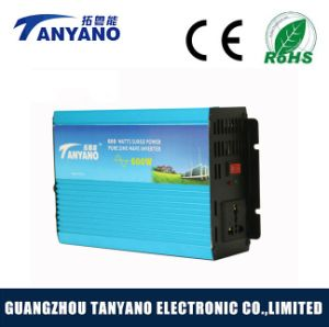12V to 220V 600W Pure Sine Wave Solar Inverter DC to AC Power Inverter