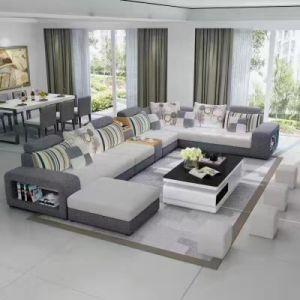 Colorful U Shape Fabric Sofa, Modern Sofa (S888) pictures & photos