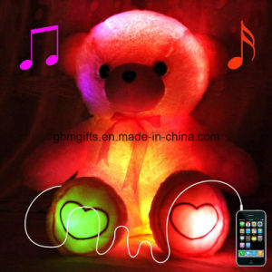 New Design Popular Plush Staffed 30cm LED Light up Claw Star Heart Shape Throe Pillow for Gift pictures & photos