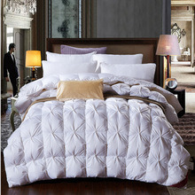 Home Textile Proof 75% Goose Down Bedding Comforter pictures & photos