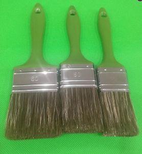 Lxxx Pet Hollow Filament Mix White Bristle Painting Brush pictures & photos