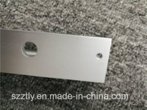 Customized Anodised Extrusion L Shaped Aluminium CNC Machined Parts pictures & photos