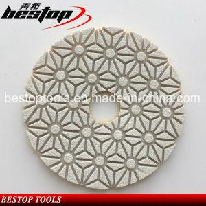 Bestop Cheap Diamond Microfiber Flexible Wet Polishing Pads pictures & photos