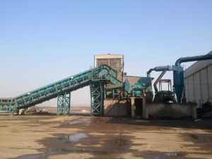 PSX-2000 Recycling Scrap Metal Shredder Line pictures & photos
