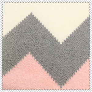 25%Wool 75% Polyester Romantic Pink Woolen Fabric for Overcoat