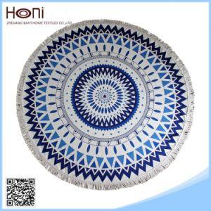 Cheap Mandala Microfiber Round Beach Towel pictures & photos