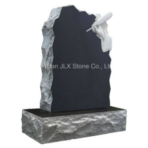 Wholesale American Style Black Granite Monument pictures & photos