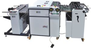 New Design Small Size Fully Automatic UV Coating Machine (SGUV-480A) pictures & photos