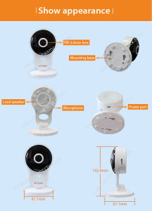 Wholesales Price 1080P 2MP Best WiFi Monitor Camera (H100-A2) pictures & photos