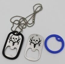 Stainless Steel Dog Tag Necklace with Bottle Opener pictures & photos