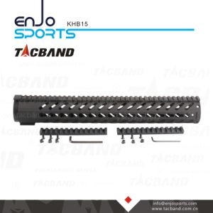 Keymod 15 Inch Handguard Rail Free Float with Picatinny Top Rail Black pictures & photos