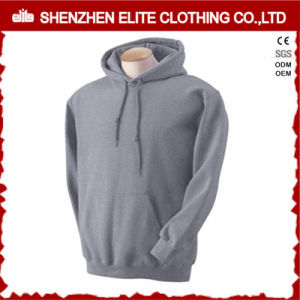 High Quality Fashion Grey Casual Hoodies Wholesale Pullover (ELTHI-19) pictures & photos