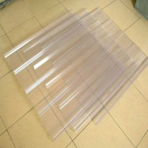 FRP Translucent Roofing Sheets/Transparent Corrugated Plastic Roofing Sheet/Clear Plastic Roof Covering pictures & photos