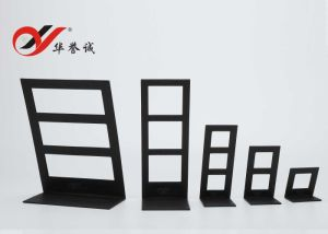 5 Sizes Black PU Leather Earring Display Stand pictures & photos