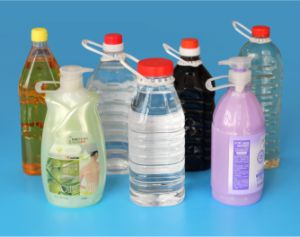3000ml Auto Pet Water Bottle Stretch Blow Molding Machine pictures & photos